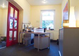 Empfangsbereich in der logopädischen Praxis in Velen | Ärtzehaus Velen